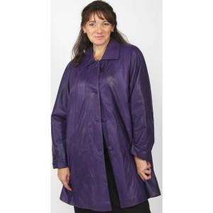 ladies-purple-leather-swing-coat-ruby