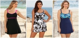 Women-s-Plus-Size-Swimwear-2013-Lingerie-Swimdress-Beach-Belle