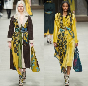 burberry-prorsum-2014-2015-fall-autumn-winter-womens-runway-london-fashion-week-drapery-flowers-scarf-outerwear-trench-pea-coat-artwork-lace-sheer-dress-0